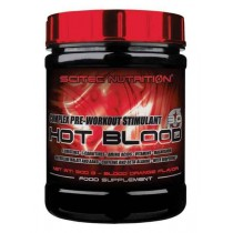 Hot Blood 300gr Scitec Nutrition Pre Entrenamiento