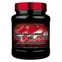 Hot Blood 820 gr Scitec Nutrition Pre Entretamiento