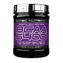 BCAA 6400 - 125 tabletas Scitec Nutrition Aminoácidos
