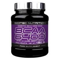 BCAA 6400 - 375 tabletas Scitec Nutrition Aminoácidos
