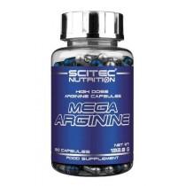 Mega Arginina 90 Cápsulas -Scitec Nutrition Aminoácidos