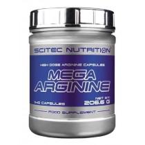Mega Arginina 140 Cápsulas -Scitec Nutrition Aminoácidos