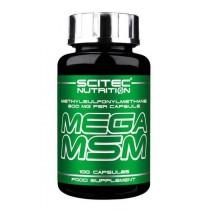 Mega MSM 100 Cápsulas - Scitec Nutrition Salud Articular