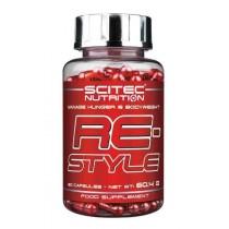 Re-Style 60 Cápsulas - Scitec Nutrition Quemadores de Grasa