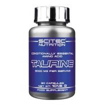 Taurine 90 Cápsulas - Scitec Nutrition Taurina