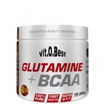 Glutamina + BCAA Complex 200gr - VitOBest