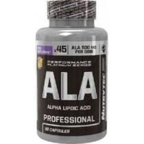 ALA - Ácido Alpha Lipóico 90 Caps - Nutrytec