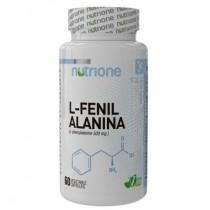 L-Fenil Alanina 60 Cápsulas - Nutrione Aminoácidos
