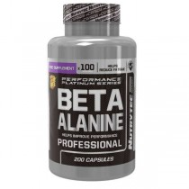 Beta Alanina 200 Capsulas 500mg - Nutrytec