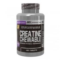 Creamast 1G Creatina de Monohidrato Masticable 180 Tabletas Nutrytec