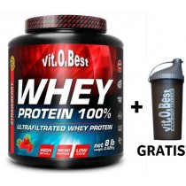 Whey Protein 100%  3.6 KG + shaker REGALO  - VitoBest Proteinas