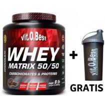 Whey Matrix 50/50 3,62 kg + Shaker de REGALO - VitoBest Proteina