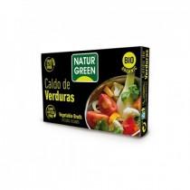 Cubito Caldo Verduras Bio (10x8,4 g) - NaturGreen