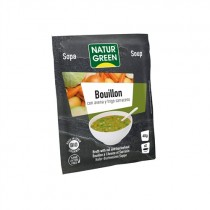 Sopa Bouillon Con Avena Y Trigo Bio 40 G - NaturGreen