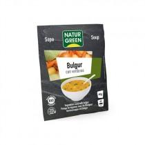 Sopa de Bulgur con Verduras Bio 40 g - NaturGreen
