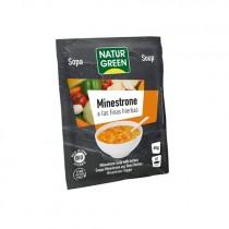 Sopa de Minestrone Finas Hierbas Bio 40 g - NaturGreen