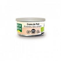 Crema Paté Almendra Ajos Salvajes Bio 125 g NaturGreen