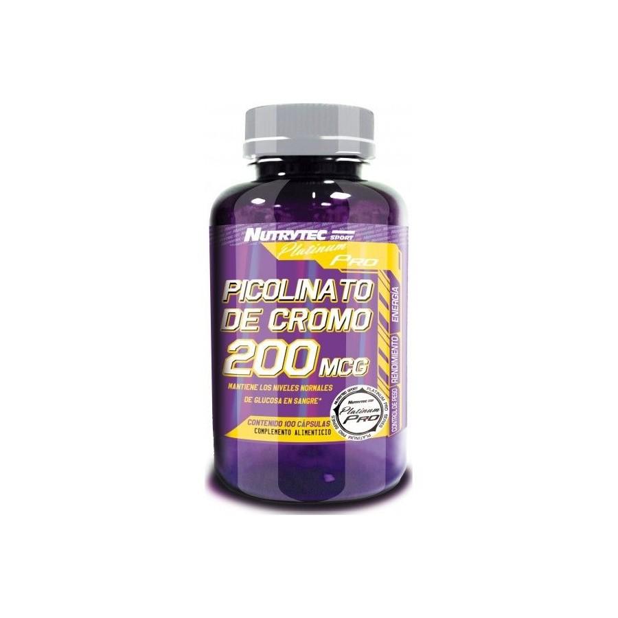 Chromium Picolinate 200 mg 100 Caps - Nutrytec
