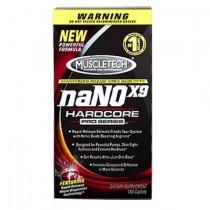 naNO X9 Hardcore Pro Series 180 Cápsulas - Muscletech