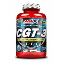 CGT-3 200 Capsulas - Amix - Combinación Creatina Glutamina Taurina