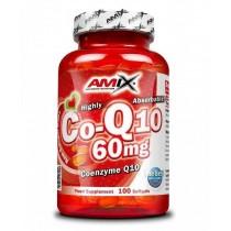 Coenzima Q10 60mg 100 Capsulas - Amix Coenzym Q 10