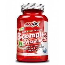 B Complex +Vit C&E 90 tabletas  - Amix Vitaminas