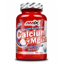 Calcio + Magnesio + Zinc 100 Tabletas - Amix