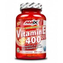 Vitamina E400 IU 100 Capsulas - Amix Vitaminas