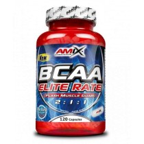 BCAA Elite Rate 120 Capsulas - Amix