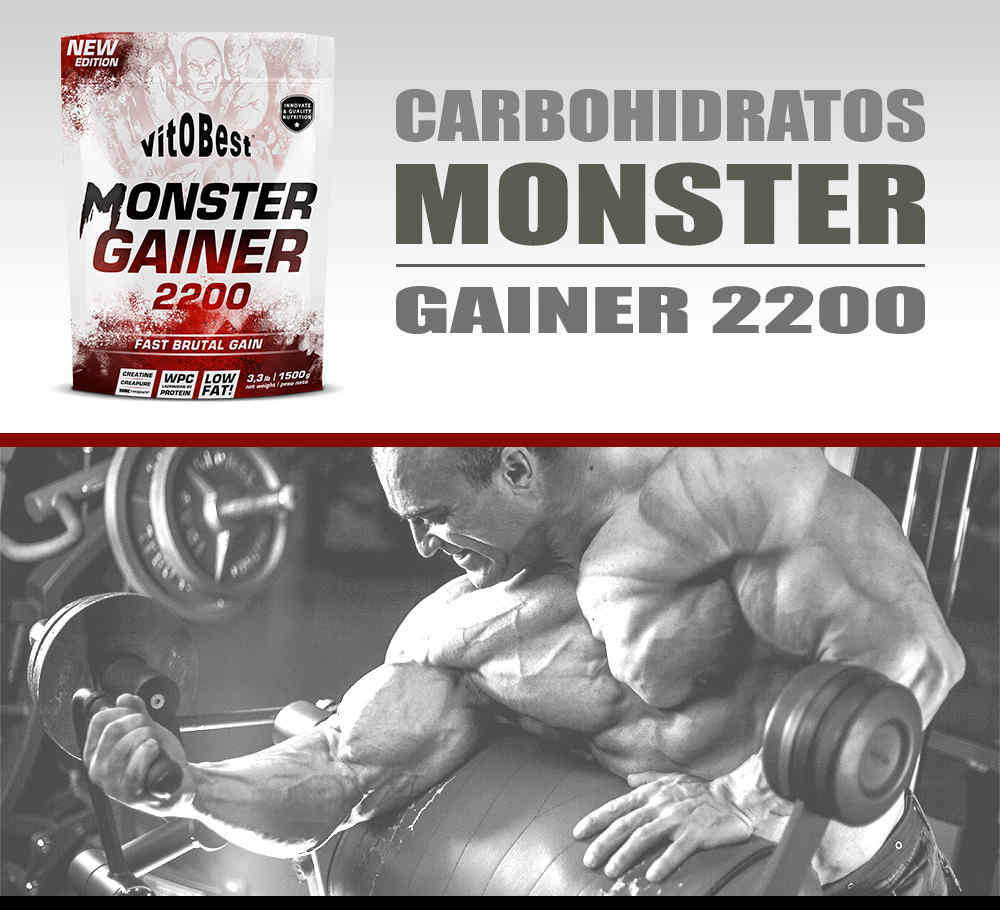 Monster Gainer 1,5 kg Vitobest