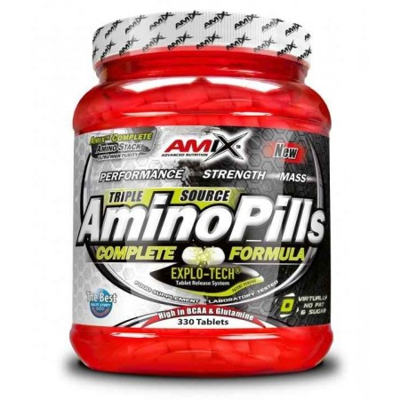 Amino Pills 330 Tabletas - Amix