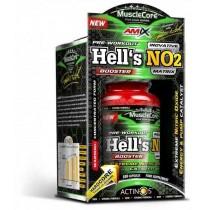 Hell's NO2 - 100 Cápsulas - Amix