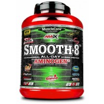 Smooth - 8 Hybrid Protein 2,3Kg - Amix Post Entrenamiento