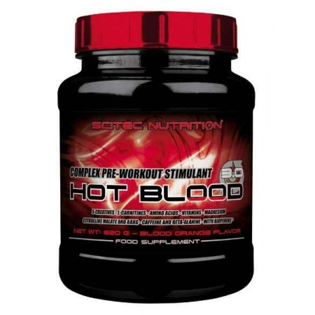 Hot Blood 3.0 820 gr Scitec Nutrition - Pre Workout