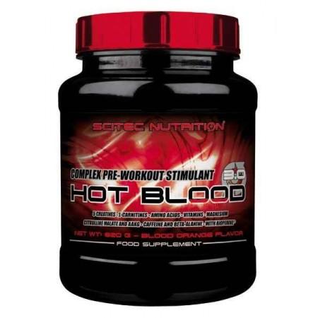 Hot Blood 820 gr Scitec Nutrition Pre Entretamiento