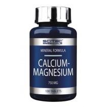 Calcium + Magnesium 100 Caps - Scitec Essentials