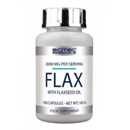 Flax 100 Caps - Scitec Essentials