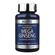 Mega Ginseng 100 Caps - Scitec Essentials