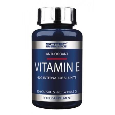 Vitamin E 100 Caps - Scitec Essentials