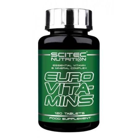Euro Vita-Mins 120 Tabls - Scitec Nutrition
