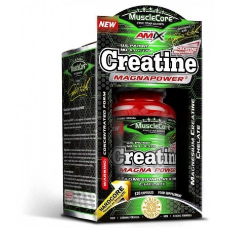Creatine MagnaPower 120 Caps - Amix Musclecore