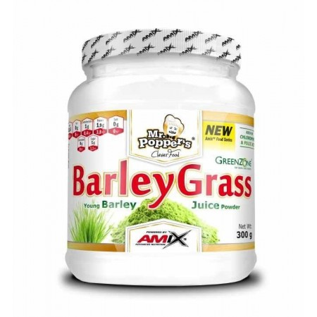 Young Barley Grass 300 gr - Amix Mr Poppers