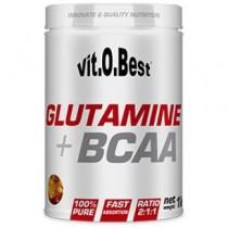 Glutamine + BCAA Complex 1kg - VitoBest Acides Aminés