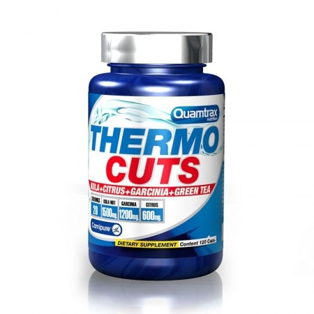 Thermocuts 120 Caps Quamtrax Nutrition