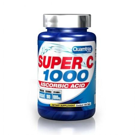 Super C 1000  100 Tabs Quamtrax Nutrition