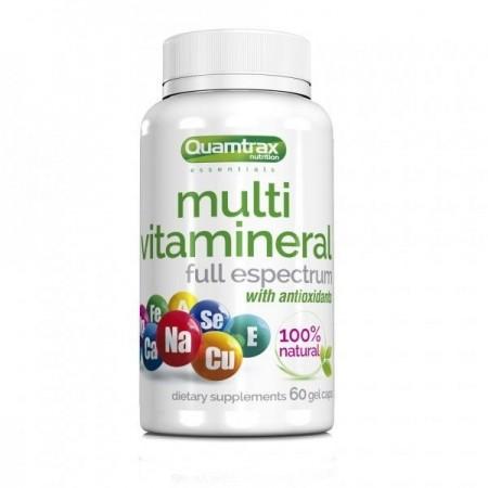 Multivitamineral 60 Gel Caps Quamtrax Nutrition