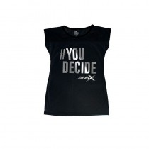 Camiseta Mujer Bella Plata You Decided - Amix