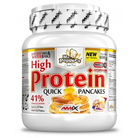 High Protein Pancakes 600 gr - Amix Mr Poppers