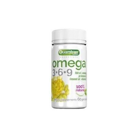 Omega 3-6-9 500 mg 60 Caps - Quamtrax Essentials