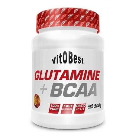 Glutamina + BCAA Complex 500gr - VitoBest